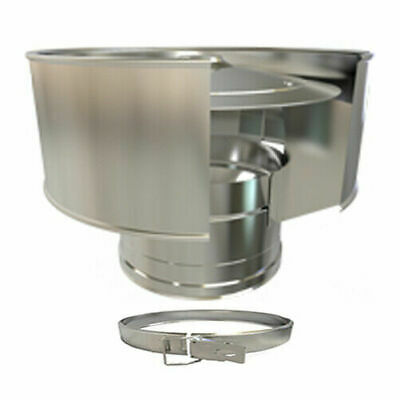 Twin Wall Chimney Pipe Stainless Steel  For Wood Burning, Multi-fuel Stoves • 19.99£