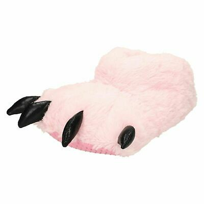 £12.99 • Buy Spot On X2091 Ladies Pink Textile Fun Novelty Claw Monster Feet Slippers
