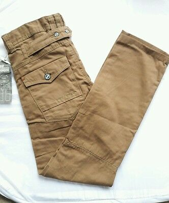 Mens Branded Crosshatch Jeans_chino Style_straight Leg_w28_l32_boys-100% Cotton • 11.99£