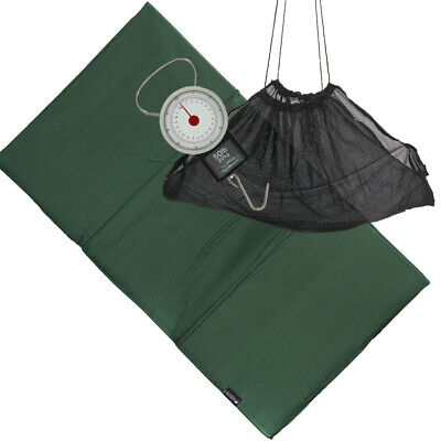 £14.25 • Buy Carp Coarse & Pike Fishing Care Unhooking Mat Set With Weighing Sling & Scales