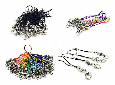 £3.69 • Buy Mobile Cell Phone Mp3 Usb Key Ring Lanyard Strap With Lobster Clasp Cords UK