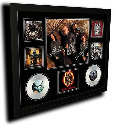 AU85 • Buy Disturbed Signed Limited Edition Framed Memorabilia