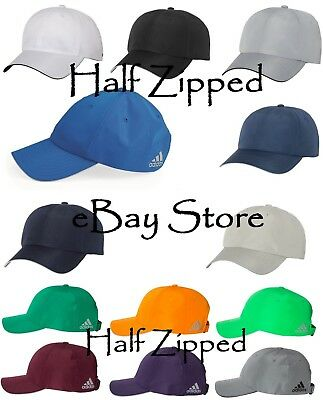 bd5ff05b74f28 Adidas Performance Relaxed Poly Cap A605 Golf Baseball Hat Unstructured •  12.95