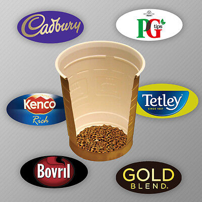 £6.98 • Buy 300 X Incup Drinks For Vending Machines 73mm Cadbury,Gold Blend,Latte, Bovril,