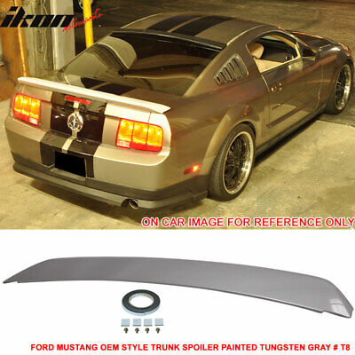 $122.99 • Buy Fits 05-09 Ford Mustang Trunk Spoiler Painted Tungsten Gray # T8 - ABS