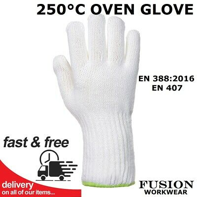 £11.95 • Buy Oven Glove,large,kitchen,professional Catering,heat Proof,high Temp,250 Degree C