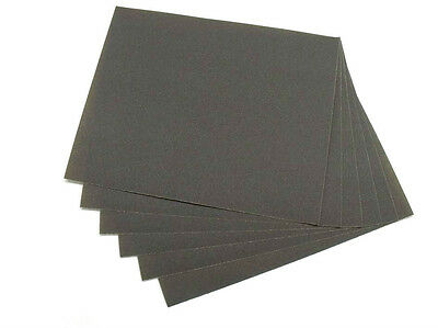 £10.87 • Buy 6 PACK Silicon Carbide Sheet Emery Abrasive Paper Lapidary Wet Or Dry 230 X280mm