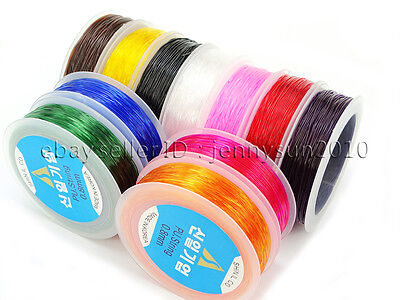 $ CDN6.70 • Buy Korean Strong Stretchy Elastic Wire Cord Thread For Beading Bracelet Necklace