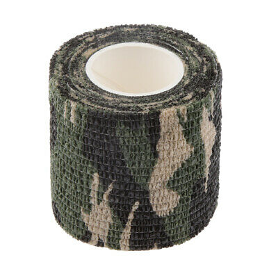 £2.61 • Buy Self-adhesive Non-woven Camouflage Wrap Rifle Gun Hunting Camo   Tape 4.5M