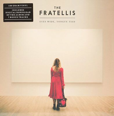 Eyes Wide, Tongue Tied  THE FRATELLIS Vinyl Record • 19.95£
