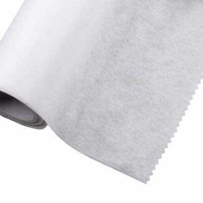 £3.50 • Buy Iron On Fusible Interfacing Light Weight 75cm Wide - White - 2 Metres