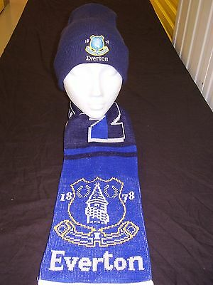 Everton Supporters  Scarf & Hat Set .goodison Park..toffeemen • 19.99£