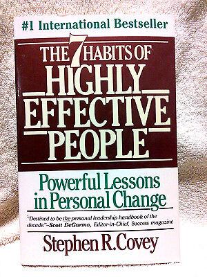 AU11.29 • Buy The 7 (seven) Habits Of Highly Effective People By Stephen R Covey FREE SHIPPING