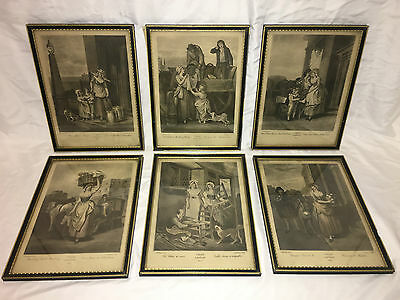 £181.07 • Buy Vintage F. Wheatley CRIES OF LONDON Two Color Print Plates 2,7,8,9,10 & 13.
