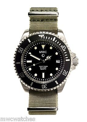 $ CDN281.15 • Buy MWC 300m Stainless Steel Quartz Submariners/Divers Watch