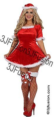 £15 • Buy Adult Ladies Sexy Santa Claus Fancy Dress Costume Outfit Womens Christmas
