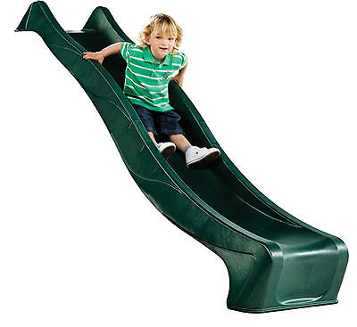 £115 • Buy Garden Games 8ft Deluxe Childrens Wavy Slide For A 4ft Deck With Water Spray