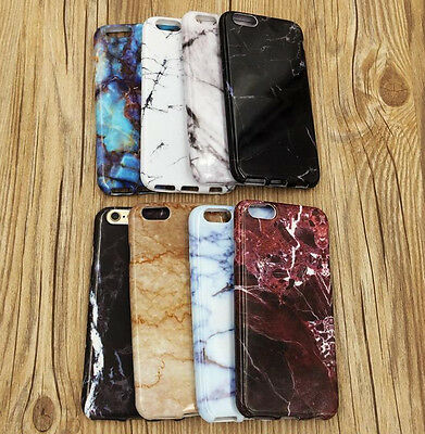 AU10.02 • Buy For IPhone 6 Or 6S+ PLUS - Ultra Thin TPU Rubber Case Cover Marble Stone Pattern