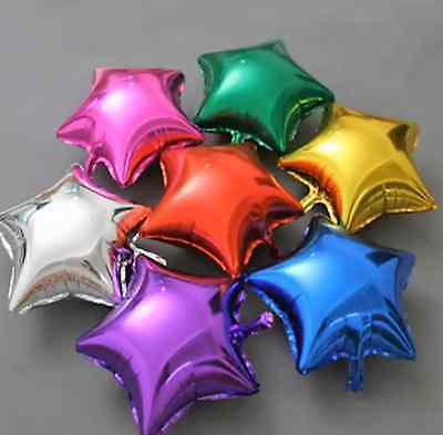AU1.20 • Buy Star Helium Foil Balloons - Wedding Birthday Party Decor Balloon New -18 /45cm