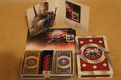 $ CDN95.86 • Buy The Witcher 3: Wild Hunt - SET - Stamp,Envelope,Booklet,BLOOD AND WINE 2 X GWENT