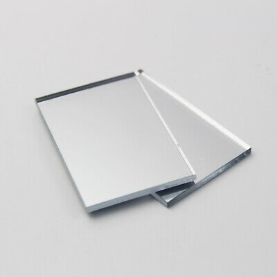 A4 Silver Acrylic Mirror Sheet Plastic Material Panel Cut To Size • 7£