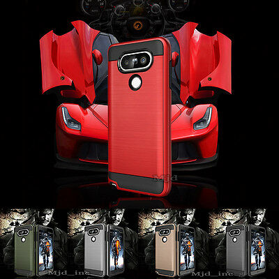 AU12.90 • Buy For LG V20 / LG V30 Phone Case Slim Shockproof Brushed Armor Cover