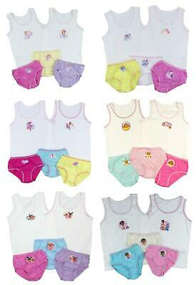 £8.50 • Buy Girls Pants And Vests Knickers Briefs Disney Bing Duggee 18-24mth  To 7-8 Years