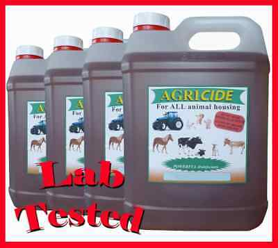Mixed Fragrance Box Agricide Pet Dog And Cat Kennel Disinfectant 4 X 5L  • 34.99£