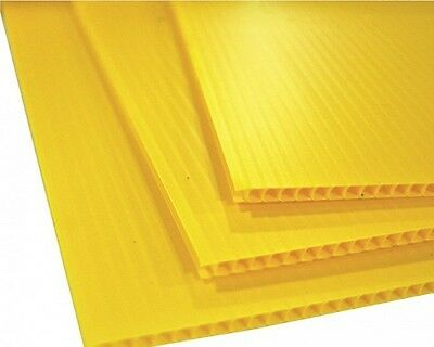 £44.14 • Buy (10 Pack) Yellow Corrugated Plastic Coroplast Sheets  24  X 48  Sign Vertical ^