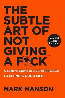 AU23.94 • Buy The Subtle Art Of Not Giving A F*Ck: A Counterintuitive Approach To Living