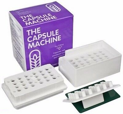 AU34.50 • Buy Capsule Machine Size 0 Empty Capsules Filler Supplements Filling Vitamin Pill