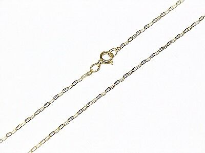 9ct Gold Fine Lightweight Trace Chain Necklace 16  18  20  • 25.99£