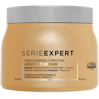 L'Oreal Serie Expert Absolut Repair 500ml Mask With Gold Quinoa + Protein • 19.89£