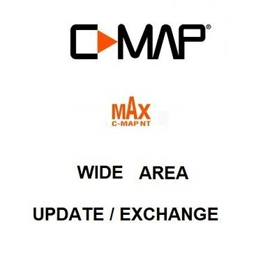 £135 • Buy C-Map MAX Wide Chart Update / Exchange On C-Card Format