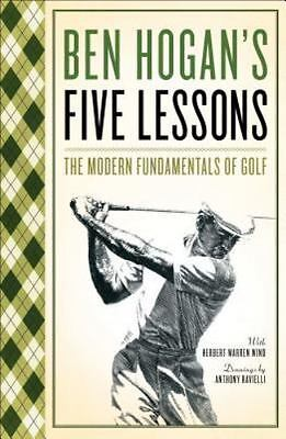 £8.33 • Buy Ben Hogan's Five (5) Lessons The Modern Fundamentals Of Golf FREE SHIPPING Book