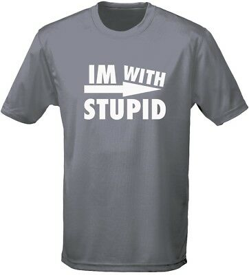 I'm With Stupid Mode Mens T-Shirt 10 Colours (S-3XL) By Swagwear • 7.98£