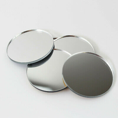Mirror Circle / Acrylic Mirror Disc Shatter Resistant Circular Wall Decor Mirror • 16£