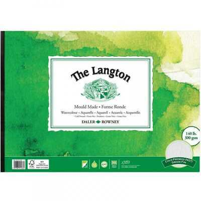 Daler Rowney Langton Watercolour Pad - 140lb / 300gsm - Cold Pressed / NOT - A4 • 11.75£