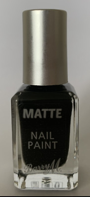 £3.95 • Buy Barry M Matte Nail Polish Paint In Espresso -  10ml