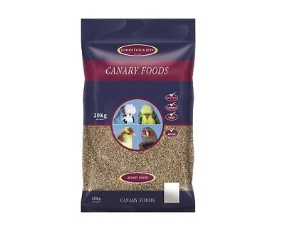 £29.99 • Buy 20kg Johnston & Jeff Canary Favourite Mix Seed Food With Yellow Egg Biscuit