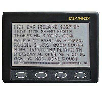 NASA Marine Clipper Easy Navtex Receiver With H Vector Antenna (Mount Excluded)  • 289£