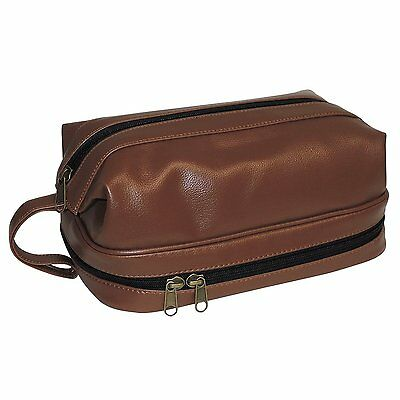 AU31.51 • Buy Dopp Toiletry Travel Kit W/ Zip Bottom W/ Travel Bonus Accessories Cosmetic Bag