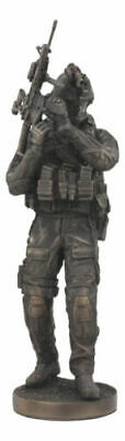 $83.59 • Buy Large Modern Warfare Infantry Statue 14 H Military Rifle Unit Soldier Figurine