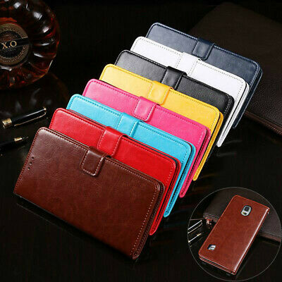 AU8.99 • Buy For Samsung Galaxy S5 Wallet Leather Case Flip Card Stand Shockproof Cover