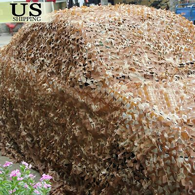 $17.99 • Buy Desert Camouflage Woodland Military Net Camo Netting Hunting Camping Tent Cover