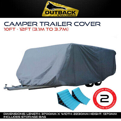AU82 • Buy Outback Explorer 10-12 Ft Camper Trailer Cover For Jayco Dove Finch Free Chocks