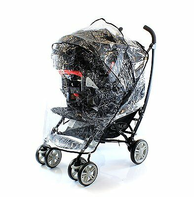 Original Graco Raincover For Mosaic Travel System / Large Pushchair • 14.99£