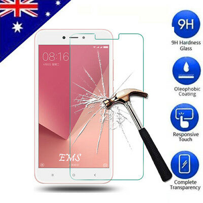 AU4.95 • Buy Tempered Glass Screen Protector Film For Xiaomi Redmi Note 3 Note 4 4X   Note 5A