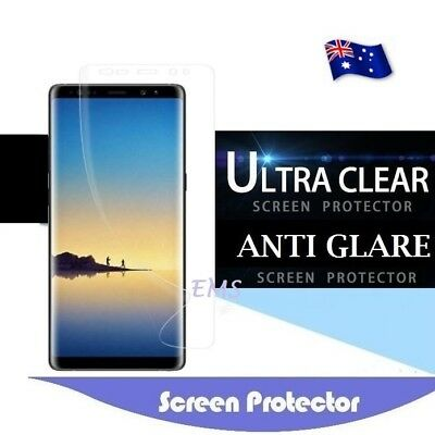 AU4.99 • Buy Screen Protector Film Guard For Samsung Galaxy S20+ Ultra S10+ S8+ Plus S7 Edge