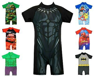 £6 • Buy Boys All In One Surf Suit Swimwear Cover All Sun Safes Superheroes